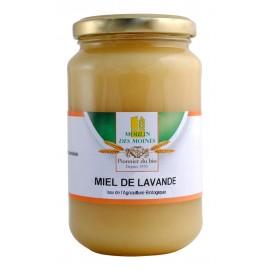Miel de lavande Bio - 500g - Moulin des Moines
