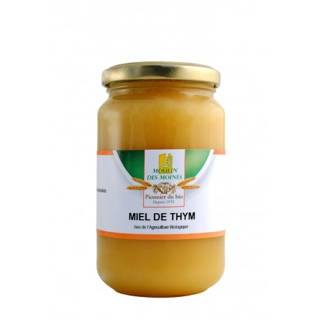 Miel de thym bio - 500g - Moulin des Moines
