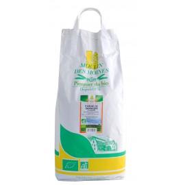 Farine de sarrasin complète bio - 5kg - Moulin des Moines