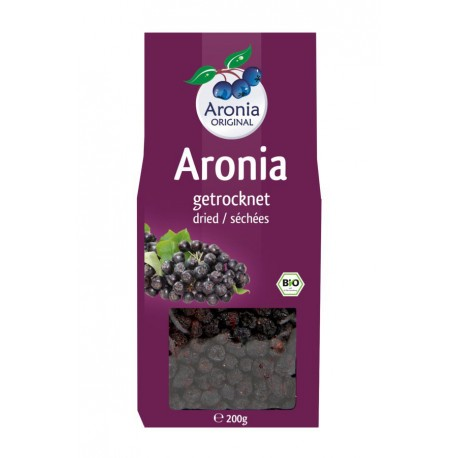 Bio Aroniabeeren getrocknet - 200g - Aronia Original