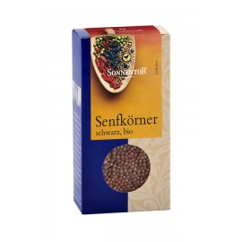 Bio Senfkörner schwarz - 80g - Sonnentor