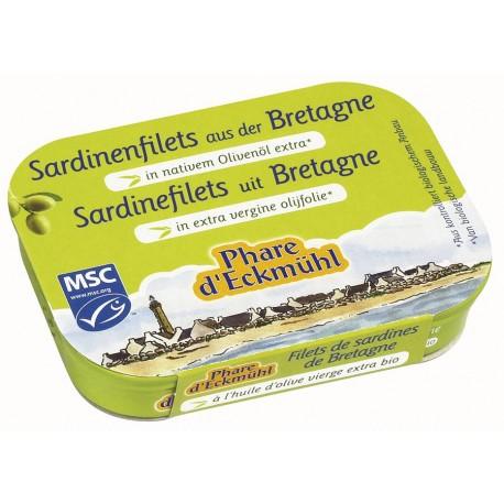 Sardinen-Filets an Olivenöl - 100g - Phare d'Eckmühl