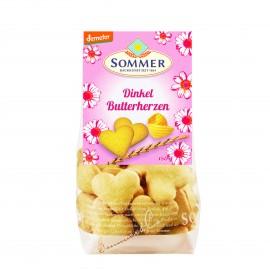 Demeter Dinkel Butterherzen - 150g - Sommer