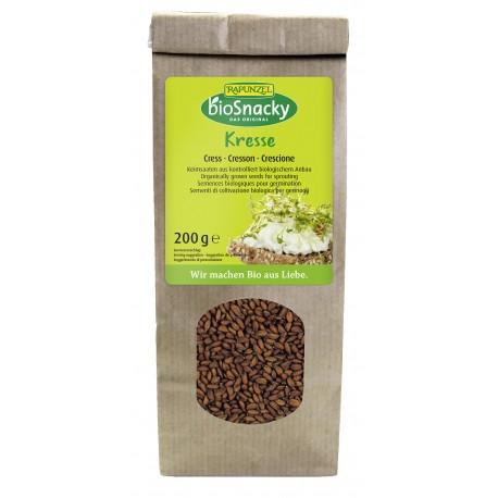 Graines à germer cresson bio - 200g - BioSnacky