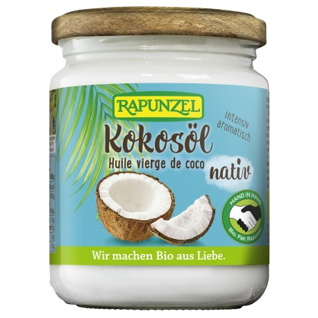 Huile vierge de coco Bio - 200ml - Rapunzel