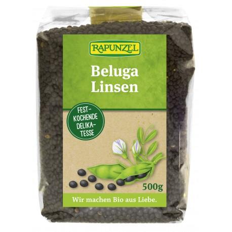 Lentilles Beluga (noires, petites), Bio - 500g - Rapunzel