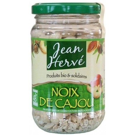 Cashewkerne getrocknet, ohne Salz, Bio - 180g - Jean Hervé