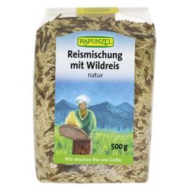 Mélange de riz avec riz sauvage, Bio - 500g - Rapunzel