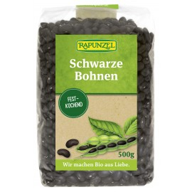 Schwarze Bohnen Bio - 500g - Rapunzel