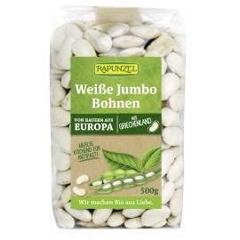 Haricots blancs jumbo, bio - 500g - Rapunzel