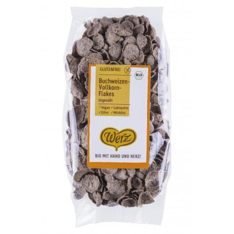 Buchweizen-Flakes glutenfrei ohne Zucker, bio - 250g - Werz