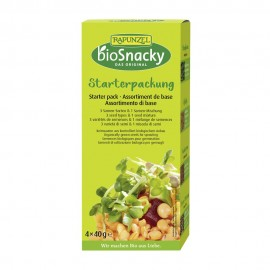Assortiment de base bio - 4x40g - bioSnacky