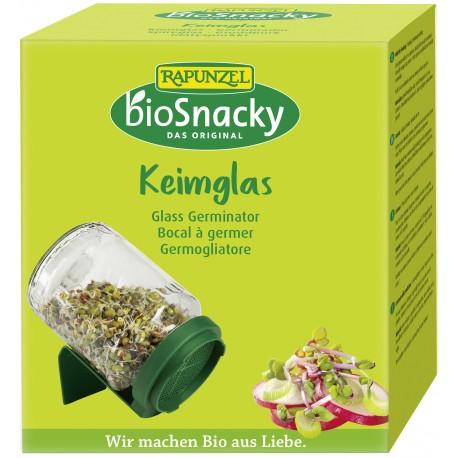 Bocal à germer en verre - bioSnacky®