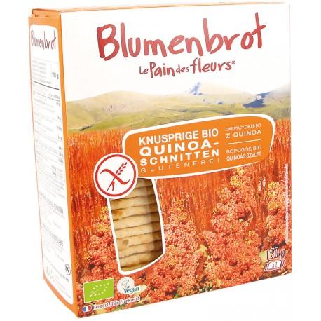 Tartines craquantes au quinoa, bio - 150g - Le pain des fleurs