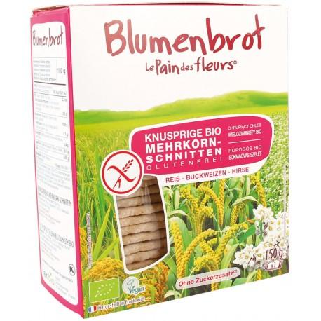 Tartines craquantes multi-céréales, bio - 150g - Le pain des fleurs