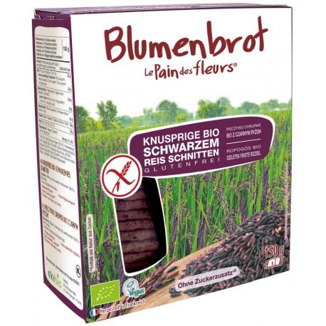 Blumenbrot schwarzer Reis Bio - 150g