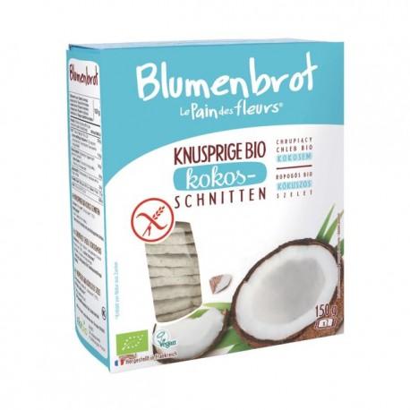 Kokos-Schnitten Bio - 150g - Blumenbrot