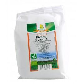 Farine de soja Bio - 500g - Moulin des Moines