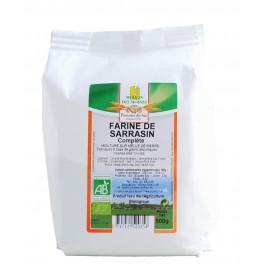 Farine de sarrasin complète, Bio - 500 g - Moulin des Moines