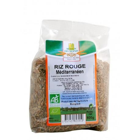 Roter Bio Langkorn Reis - 500 g - Moulin des Moines