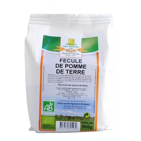 Fécule de pomme de terre, Bio - 500 g - Moulin des Moines