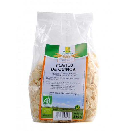 Flakes de Quinoa, Bio - 250 g - Moulin des Moines