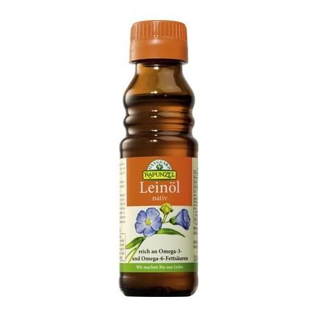 Leinöl, nativ, Bio - 100ml - Oxyguard - Rapunzel