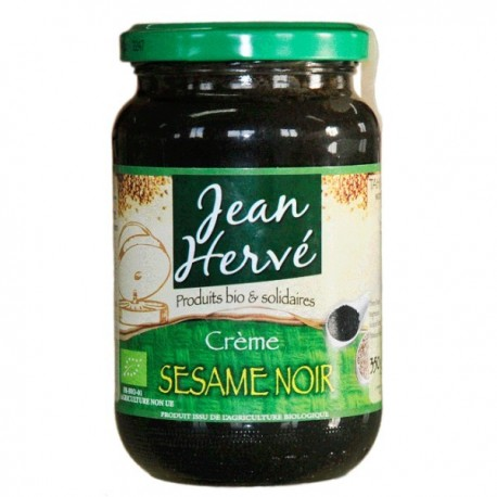 Creme de sésame noir, Bio, - 350g - Jean Hervé