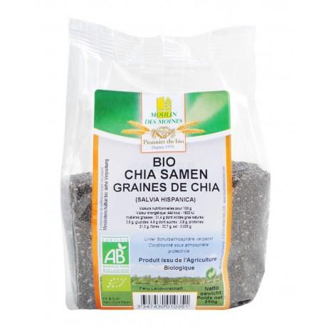 Graines de Chia Bio - 250g - Moulin des Moines