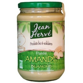 Purée d'amande blanche crue Bio - 700g - Jean Hervé