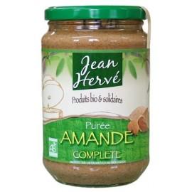 Mandelmus braun aus ganzen Mandeln, Bio - 700g - Jean Hervé
