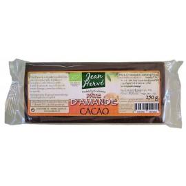 Marzipan mit Agavensirup und Kakao, Bio - 250g - Jean Hervé