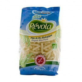 Pâtes Fusilli Riz, Bio, sans gluten - 500g - Révola - Glutabye