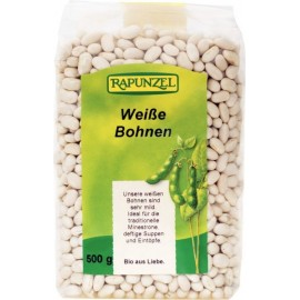 Bohnen weiss Bio - 500g - Rapunzel