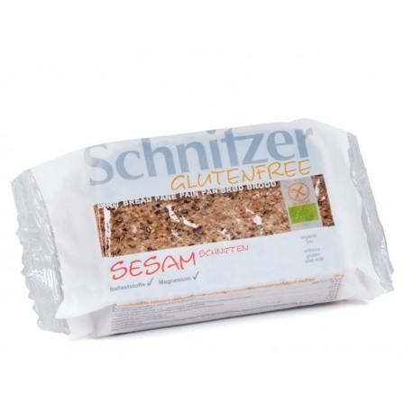 Edles Sesambrot, Bio, Glutenfrei - 250g - Schnitzer