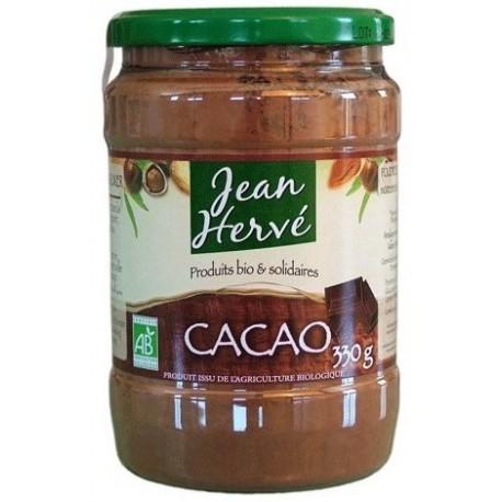 Poudre de Cacao Bio, non dégraissée - 330g - Jean Hervé