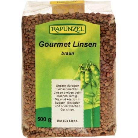 Lentilles Gourmet (brunes), Bio - 500g - Rapunzel