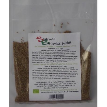 Alfalfa Bio Keimsamen - 150 g - Bardowick