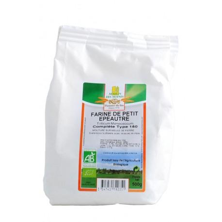 Einkorn-Vollkornmehl, Bio - 1 kg - Moulin des Moines