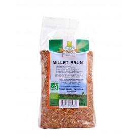 Millet brun bio - 500g - Moulin des Moines