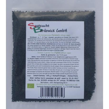 Oignons, Graines à germer Bio - 100 g - Bardowick