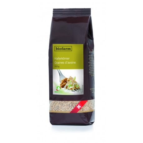 Grains d'avoine bio - 500g - Biofarm