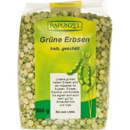 Erbsen grün, halb geschält, Bio - 500g - Rapunzel