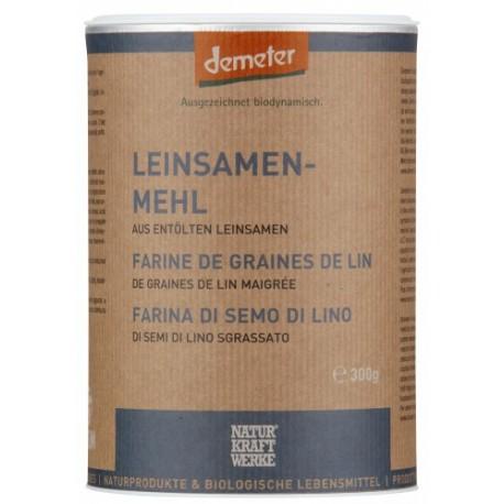 Farine de grain de lin, Demeter - 300g - Naturkraftwerke