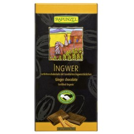 Schokolade Zarbitter mit Ingwer, Bio - 80g - Rapunzel