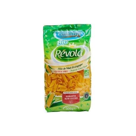 Pâtes Mezze Penne Maïs, Bio, sans gluten, 500g - Révola - Glutabye