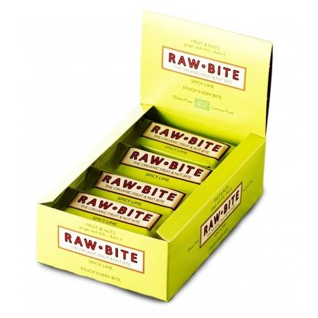 Barre crue citron & épices, Bio - 12x50g - Raw-Bite