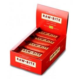 Barre crue pomme & cannelle, Bio - 12x50g - Raw-Bite