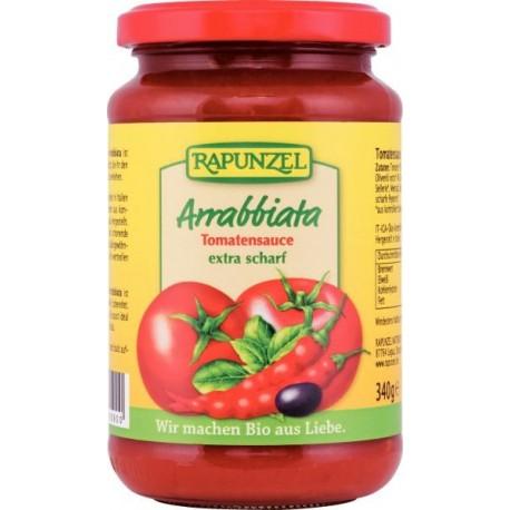 Sauce tomate Arrabiata, Bio - 340g - Rapunzel