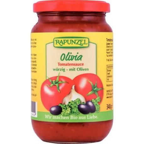 Sauce tomate Olivia, bio - 340g - Rapunzel